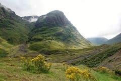 Im Glen Coe Tal in Schottland. (Bild: Josef Habermacher)