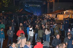 Die Strassen im Kirchberger Zentrum verwandelten sich am Samstag in eine friedliche Festmeile.