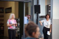 Renate Bruggmann und Gioia Dal Molin