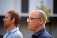 David Lang und Frédéric Bolli