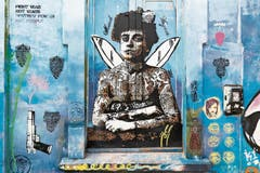 Kunstvolle Graffiti spiegeln in Bogotá die politische und kulturelle Geschichte des Landes.