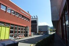 Isoliert: Der Campus der Hochschule für Technik und Architektur in Horw. (Bild: Stefan Welzel (Luzern, 19. Juli 2018))
