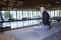Der Ägeribad-Geschäftsführer Stefan Schlatter freut sich, das Bad Ende September eröffnen zu können.