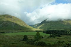 Im Glen Coe Tal, oder das Tal der Tränen, Schottland. (Bild: Josef Habermacher, 30. August 2018)