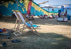 Wegen Unfällen musste der Summer Slide in Steckborn abgebrochen werden. (Bild: Reto Martin)