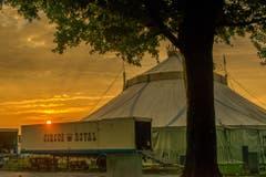 Der Circus Royal am frühen Morgen in Arbon. (Bild: Regina Rosin)