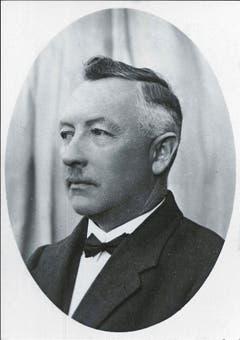 Der Sennwalder Nationalrat Jakob Fenk (1879–1968). (Bild: Werner Hagmann)