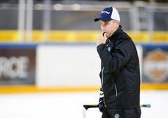 Cheftrainer Dan Tangnes. (Bild: Stefan Kaiser (Zug, 07. August 2018))
