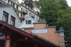 Bei der heutigen Mühleggbahn soll sich Gallus vor gut 1400 Jahren niedergelassen haben (Bild: Samira Hörler)