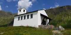 Die Kapelle der heiligen Barbara von Nikomedien am Silvretta-Stausee in Österreich. (Bild: Josef Stalder)
