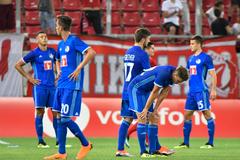 René Weilers Mannschaft konnte mit der starken Mannschaft aus Piräus nicht mithalten. (Bild: Martin Meienberger, Piräus, 9. August 2018)