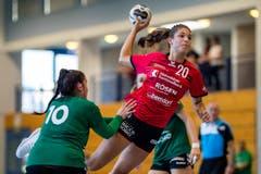 Nadja Fellmann wehrt sich gegen die Brühler Konkurrenz. (Bild: Philipp Schmidli, Stans, 9. September 2018)