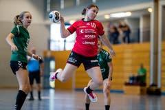 Jsabel Kretz vom BSV Stans. (Bild: Philipp Schmidli, Stans, 9. September 2018)