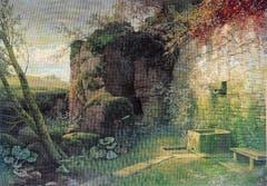 «Verlassener Brunnen», 1901, von Jakob Lorenz Rüdisühli. (Bild: Bilder: PD)