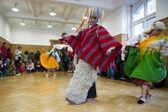 Musik und Tanz aus Lateinamerika: Vorführung am Sufo 2012. (Bild: Urs Jaudas - 12. Mai 2012)
