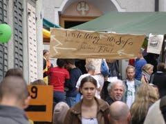 Ende Mai 2014 wurde zehnmal Sufo gefeiert - unter anderem mit einer Ausstellung und einem Jubel-T-Shirt. (Bild: Daniel Klingenberg - 24. Mai 2015)