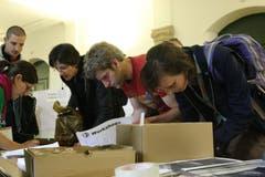 Zu welchem Workshop melden wir uns noch an? Impression vom Sufo 2008. (Bild: Reto Voneschen - 17. Mai 2008)