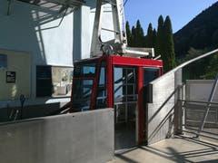 An der Talstation der Luftseilbahn Haldi. (Bild: Urs Gutfleisch (Schattdorf, 12. September 2018))