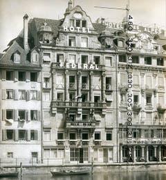 Der Portier der Hotel Federal hingegen soll ein Freier gewesen sein. (Bild: Hotelarchiv Schweiz)
