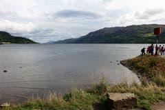 Loch Ness im schottischen Hochland, zweitgrösster See Schottlands. (Bild. Jofes Habermacher (Schottland, 15. September 2018))