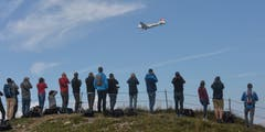 Impressionen vom Oldtimer-Flugtag auf dem Stanserhorn. (Bild: Fotostudio Robert Fischlin (Stanserhorn, 15. September 2015))