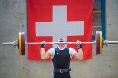 Schweizer Meisterschaft im Gewichtheben in Staad © Urs Bucher/TAGBLATT