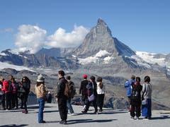 Matterhorn bestaunen (Bild: Josef Müller)