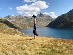 Wunderbare Kulisse beim Lago di Lucendro. (Bild: Markus Brülhart (Gotthardgebiet, 20. September 2018))