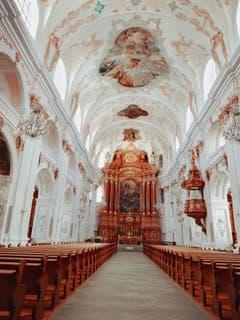Jesuitenkirche. ((Bild: Larisa George (Luzern, 23. September 2018))
