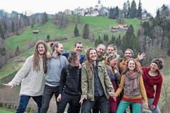 Die Gemeinschaft wohnt seit einem Jahr in Trogen. Zuvor lebte sie in Zwischennutzungen in Zürich. (Bild: PD)