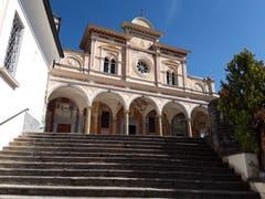 Eindrückliche Architektur. Madonna del Sasso, Orselina. (Bild: Bruno Ringgenberg (Orselina, 26. September 2018))