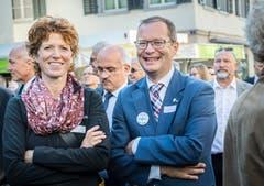 Regierungsrat Walter Schönholzer ist ebenfalls an der Eröffnungsfeier anzutreffen. Bild: Andrea Stalder
