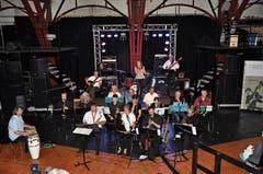 Die Big Band «Soundfactory» spielt verschiedenste Stilrichtungen. (Bild: Bilder: PD)