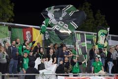 Fussball Challenge League Kriens Schaffhausen Eröffnung Choreo 1. Spiel in neuem StadionFotografiert am 28. September 2018 in Kriens.Nadia Schärli Luzernerzeitung