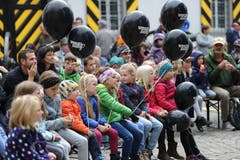 Grossandrang beim Kinderprogramm. (Bild: Urs Hanhart (Altdorf, 29. September 2018)