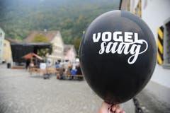 Luftballons machten auf die Jubiläumsfeier aufmerksam. (Bild: Urs Hanhart (Altdorf, 29. September 2018)