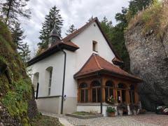 Felsenkappelle St.Michael auf Rigi Kaltbad. (Bild: Regina Sapin (Rigi Kaltbad, 30. September 2018))