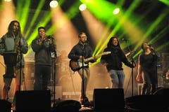 Auch «Basement Roots» traten am Jubiläum des Kellertheaters auf. (Bild: Urs Hanhart (Altdorf, 29. September 2018))