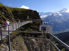 Fernsicht auf Grindelwald-First. (Bild: Josef Müller (4. September 2018))