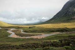 Natur pur im Glen Coe-Tal inmitten der schottischen Highlands. (Bild: Josef Habermacher (Glen Coe, 6. September 2018))