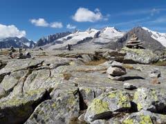 Unvergessliche Bergwelt, aufgenommen zwischen Moosfluh und Bettmeralp. (Bild: Bruno Ringgenberg, 8. September 2018)
