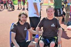 FCSG Spielerlegende Marc Zellweger nahm auch an der Veranstaltung teil. (Bild: Maria Keller)