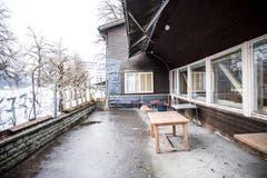 Der Vorplatz des Eichwäldli. (Bild: Manuela Jans-Koch, 9. Januar 2019)
