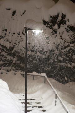 Der viele Schnee erzeugt so manche romantische Ecke. (Bild: Franz Häusler)