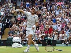 Andy Murray gehört zu den «Big Four». Er stand allerdings lange im Schatten von Roger Federer, Rafael Nadal und Novak Djokovic, ehe er 2016 zur Nummer 1 der Welt avancierte. Im gleichen Jahr gewann er zum zweiten Mal nach 2013 in Wimbledon (Bild: KEYSTONE/EPA/ANDY RAIN)