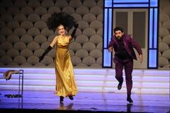 Impressionen aus dem Stück «Ball im Savoy» der Operette Sirnach.