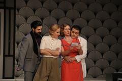 Impressionen aus dem Stück «Ball im Savoy» der Operette Sirnach. (Bilder: PD/Franco Baumgartner)