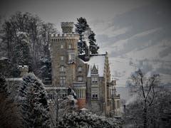 Es muss ja nicht unbedingt in Schottland sein, auch unser «Wahrzeichen Schloss Neuhabsburg» lädt zum Fotografieren ein. (Bild: Margrith Imhof-Röthlin (Meggen, 11. Januar 2019))