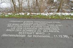 Eine Erinnerungsarbeit zum Gedenkjahr 1938 - 1939.