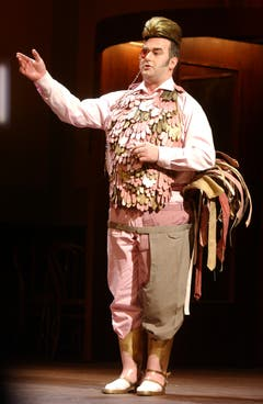 Das Luzerner Theater vergab 2004 beim Festival Gwand einen Förderpreis. Dies ein Werk von Diana Ammann aus Basel. (Bild: Eveline Bachmann)